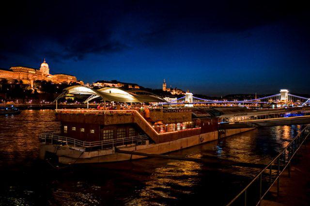 Columbus pub, jazz sur le Danube à Budapest.
